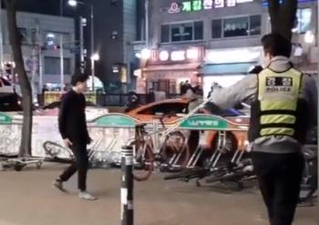 암사동 흉기난동 [사진 유투브 캡쳐]