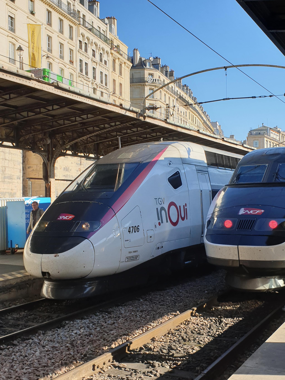 InOui는 프랑스 고속열차의 새 이름이다. [강갑생 기자]