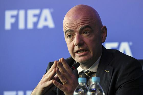 잔니 인판티노 FIFA 회장. [뉴스1]