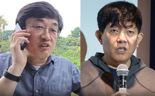 이찬진 포티스 대표-이재웅 쏘카 대표. [연합뉴스]
