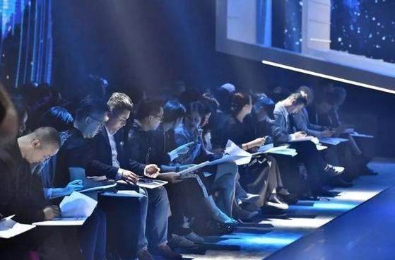 중국 국제 패션 디자인 혁신 대회 현장 [사진 sohu.com]
