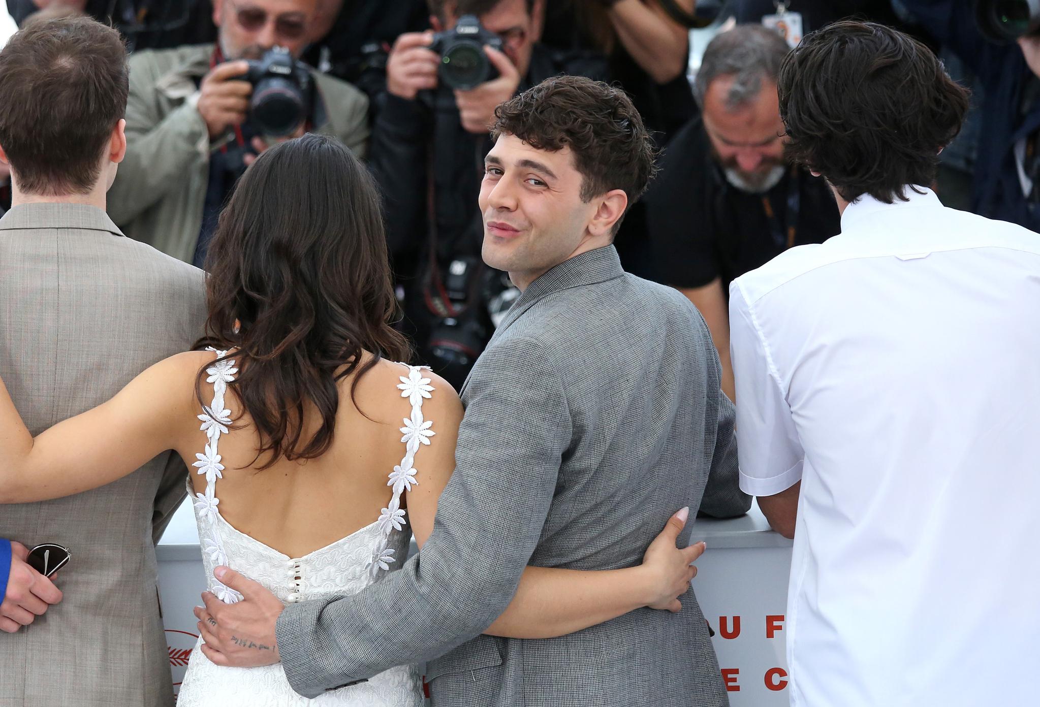 감독 자비에 돌란이 23일 오후(현지시간) 프랑스 칸 팔레 드 페스티발에서 열린 '제 72회 칸 국제영화제'(Cannes Film Festival) 경쟁부문 진출작 '마티아스 앤드 맥심'(MATTHIAS AND MAXIME) 포토콜에 참석해있다.[UPI=연합뉴스]
