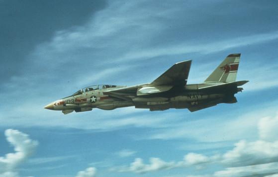 미 해군이 운용했던 F-14 톰캣