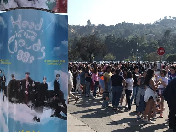 방탄소년단(BTS)의 월드 스타디움 투어 첫 공연이 열리는 미국 캘리포니아주 패서디나 로즈볼 스타디움. 방탄소년단은 아미라는 팬클럽을 통해 전 세계 팬들과 쌍방향으로 소통하는 것이 강점이다.<저작권자 ⓒ 1980-2019 ㈜연합뉴스. 무단 전재 재배포 금지.>