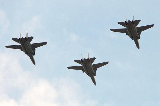 이란 F-14 톰캣 전투기[위키피디아]