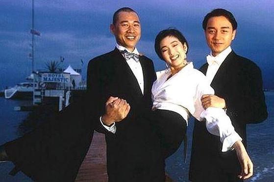 1993년 제46회 칸 영화제 현장에서 장풍의, 공리, 장국영