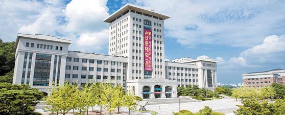 국제화·특성화 대학 선두 주자로 꼽히는 충남 아산의 선문대에는 79개 나라에서 온 유학생이 공부하고 있다. [사진 선문대]