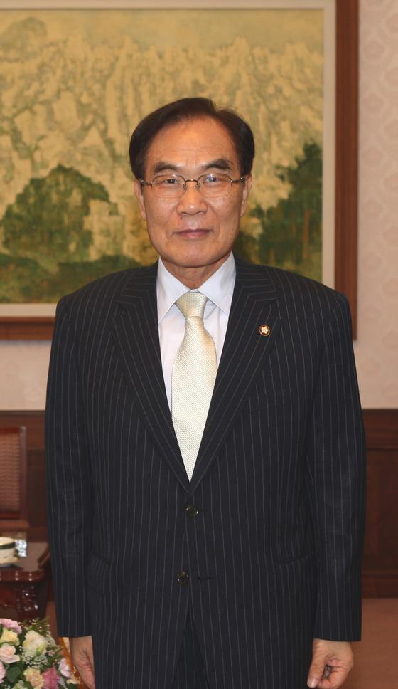 한국기원, 신임총재에 임채정 前 국회의장 추대