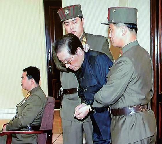 2013년 처형된 장성택 전 북한 국방위원회 부위원장. [노동신문]