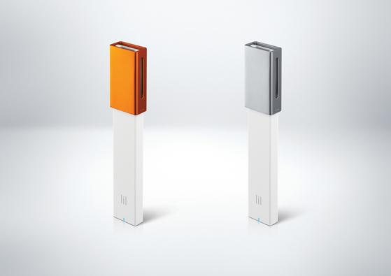 27일 KT&G가 출시하는 액상형 전자담배 릴 베이퍼. [사진 KT&G]