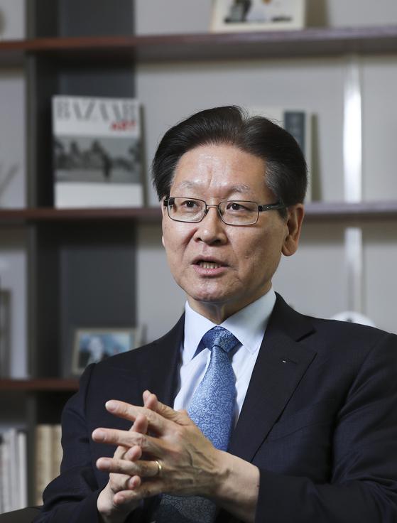 김봉현 제주평화연구원장 김경록 기자