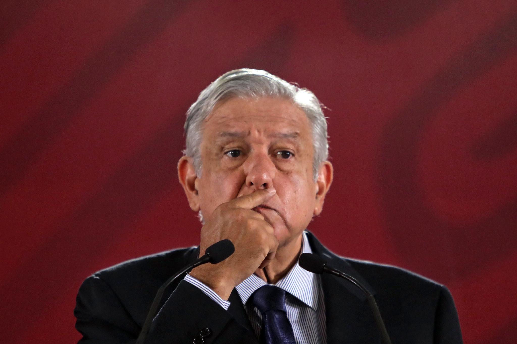 안드레스 마누엘 로페스 오브라도르 (Andres Manuel Lopez Obrador) 멕시코 대통령. [EPA=연합뉴스]