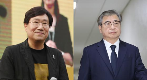 양정철 민주연구원장(좌)과 서훈 국정원장(우) [뉴시스·중앙포토]