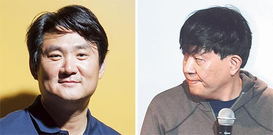 김정호(左), 이재웅(右)
