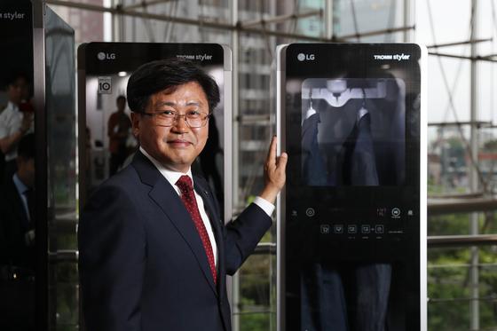 특허청이 선정한 '올해의 발명왕' LG전자 김동원 연구위원. [김경록 기자]
