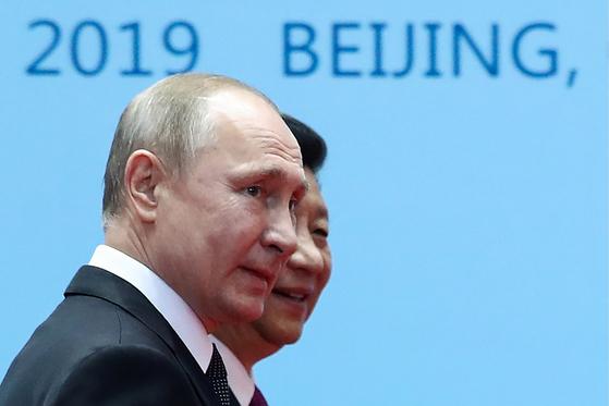 미묘한 미·중·러 3각 관계 속 시진핑 주석 다음주 러시아 국빈방문