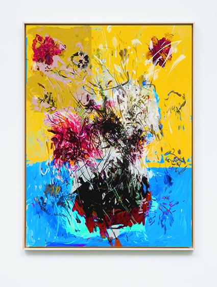 페트라 코트라이트, '2018, digital painting on gloss paper, face mounted, 104.3x79.1x4cm). 제8회 아트부산에서 소개된다. [사진 아트부산]