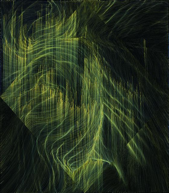 국내 제이슨 함 갤러리가 선보이는 마이어 린 작가의 대형작품 '무제'(2018),  [사진 아트부산]