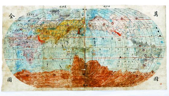 17세기 조선이 본 세계, 태평양이 중심