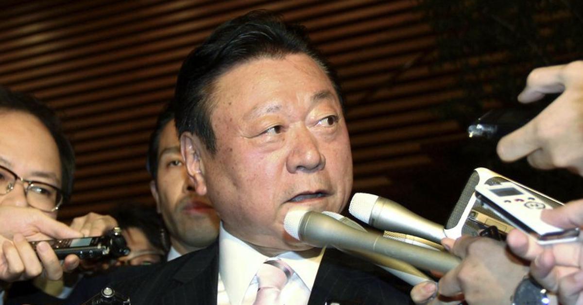 '망언'으로 사퇴한 사쿠라다 전 일본 올림픽 담당상 [AP=연합뉴스]