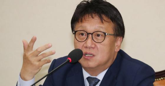 더불어민주당 민병두 의원. [뉴스1]