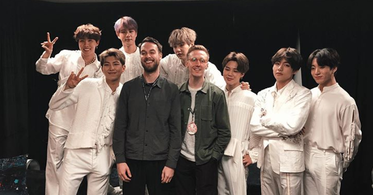 What Are HONNE And LAUV Doing At A BTS Concert?!