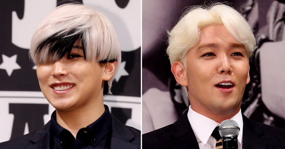 그룹 슈퍼주니어가 성민(왼쪽)과 강인을 제외한 9인의 하반기 컴백을 예고했다. [일간스포츠·연합뉴스]
