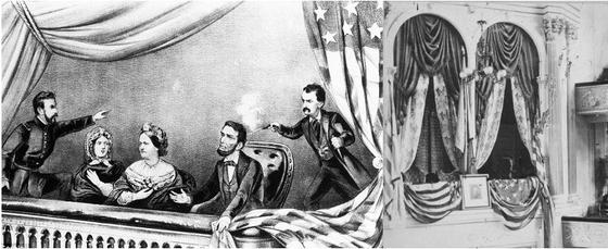 링컨 대통령은 미국의 남북전쟁이 끝난지 닷새 후인 1865년 4월 14일 오후 10시쯤 포드 극장에서 남부 지지자인 존 윌크스 부스에게 암살당했다.