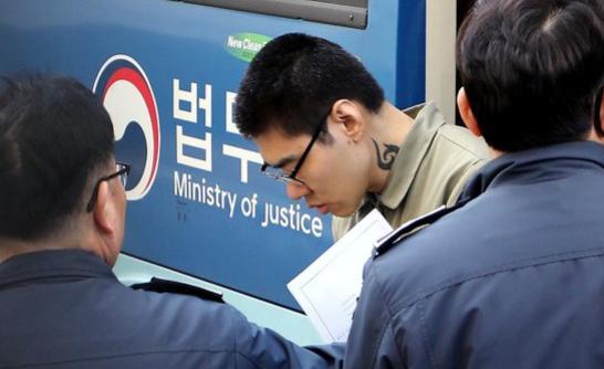 PC방 아르바이트생을 살해한 혐의로 구속 기소된 피의자 김성수. [뉴스1]