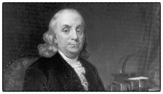 """미국 철학자 벤저민 프랭클린은 """"훌륭한 리더의 자제가 반드시 리더의 자질을 타고나는 것은 아니다""""고 말했다. [중앙포토]"""