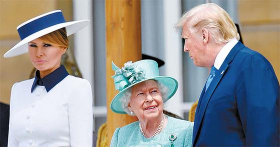 [사진] 트럼프, 영국 국빈방문