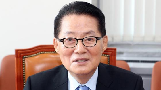 박지원 민주평화당 의원. [뉴시스]