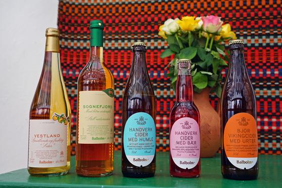 발레스트란 지역에서 생산하는 사이다. 알코올 도수가 4~14도에 이르고, 맛과 향이 다양해 취향 따라 골라 먹을 수 있다. 백종현 기자