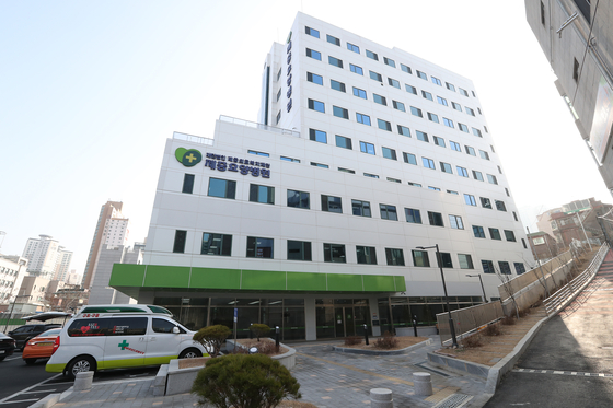 효원상조의 고객 적립금을 바탕으로 설립된 제중재단의 제중요양병원. 고발장에 따르면 이 병원은 효원상조 경영진에 의해 사무장 병원으로 운영되고 있다. [우상조 기자]