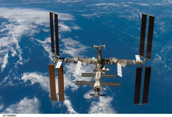 국제우주정거장. [사진 NASA]