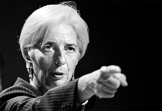 """크리스틴 라가르드 IMF 총재는 """"미·중 무역 전쟁은 자해행위이고 양국 모두 실패자""""라고 작심 비판했다."""