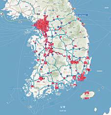국내 5G 커버리지 현황 : SKT (6월 7일 기준)