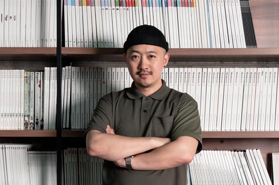 박기훈 대표는 정성균 편집장과 휴먼스 오브 서울 프로젝트를 7년 째 이끌고 있다. [사진 휴먼스 오브 서울]