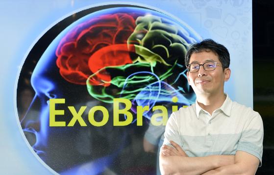 한국형 인공지능 언어모델을 개발한 한국전자통신연구원 김현기 책임연구원은 2013년부터 20여개 유관기관이 개발에 참여하고 있는 엑소브레인 사업을 총괄하고 있다. [프리랜서 김성태]