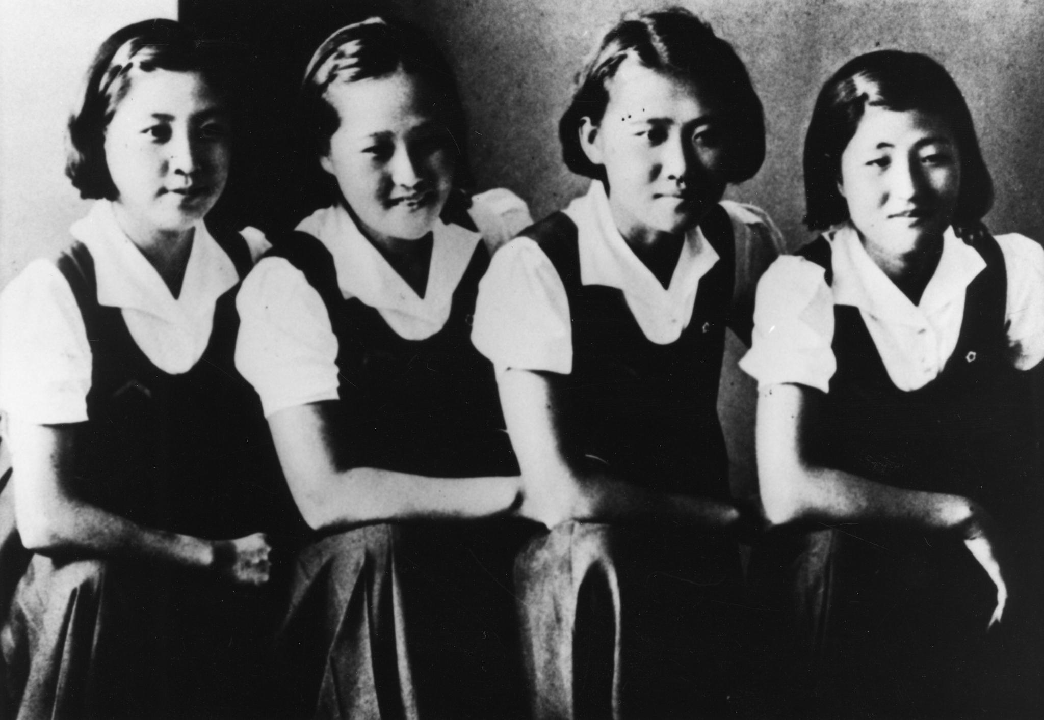 이희호 여사의 학창시절 모습. [중앙포토]