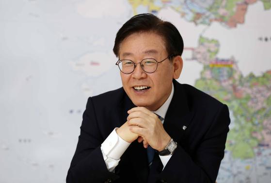 이재명 경기도지사. 김상선 기자