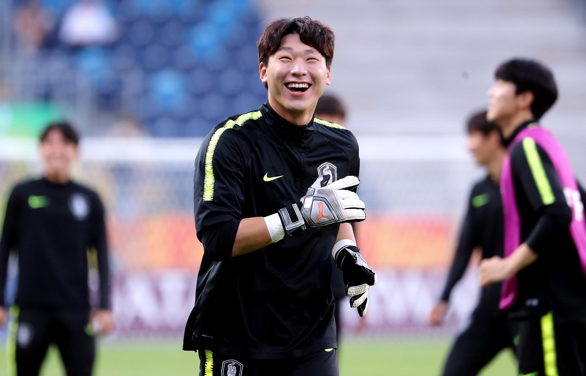 한국 20세 이하 축구대표팀 골키퍼 이광연. [뉴스1]