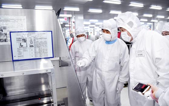 중국 SK 하이닉스 충칭 공장 [연합뉴스]
