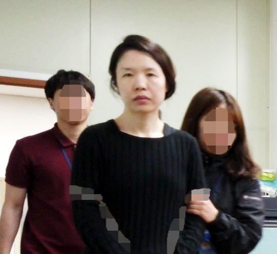 전남편 살해 사건 피의자 고유정. [연합뉴스]