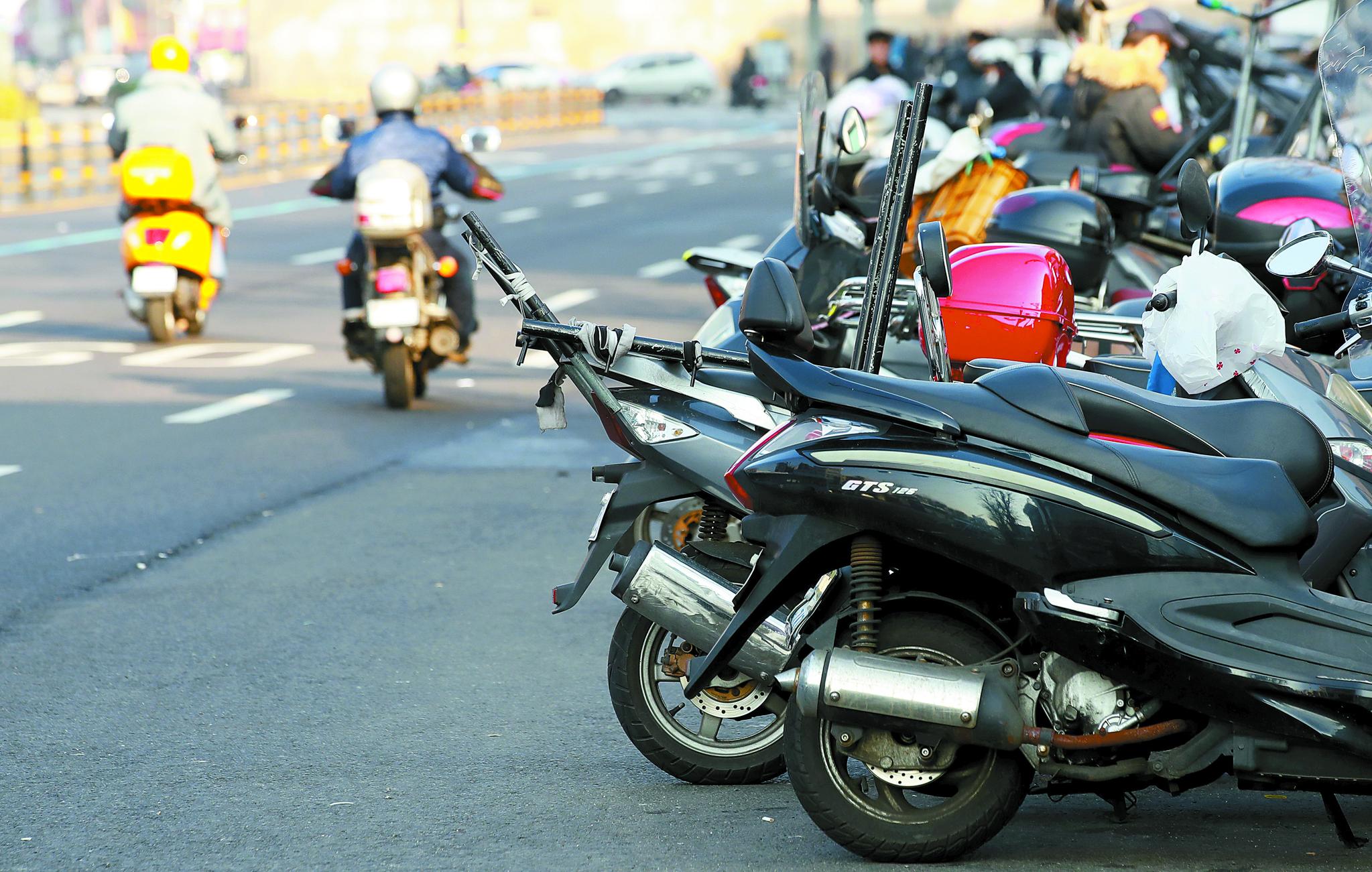 배달 오토바이가 크게 늘면서 교통사고도 증가하는 것으로 분석됐다. [연합뉴스]