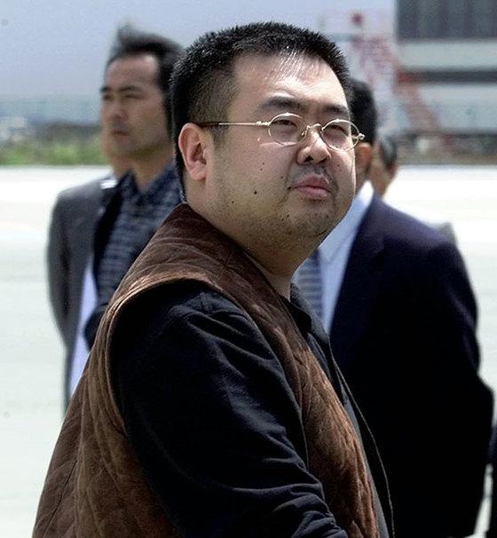 김정일 북한 전 국방위원장의 장남이자 김정은 북한 국무위원장의 이복형인 김정남. [AP=연합뉴스]