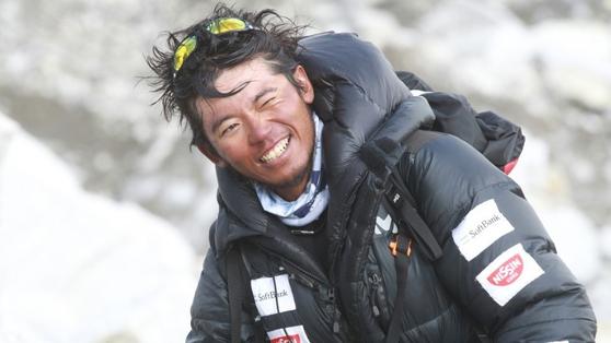 구리키 노부카즈(栗城史多)는 에베레스트(8848m)에 여덟 차례 도전했지만 모두 실패했다. 그는 7대륙 최고봉 중 아시아 최고봉인 에베레스를 오르지 못했다. 사진=구리키 노부카즈