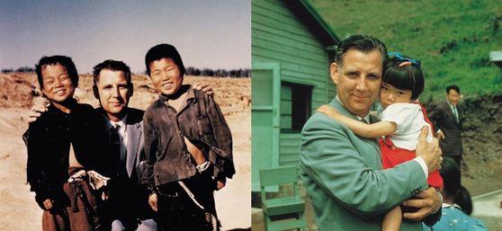 에버렛 스완슨 목사는 한국 전쟁으로 고아가 된 아이들을 돕기 위해 컴패션을 설립했다. [사진 한국컴패션 홈페이지]