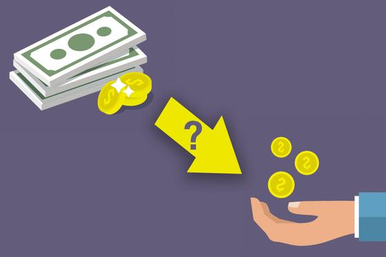 돈을 빌려주면서 구체적인 이율을 정하지 않았을 때는 민법상 법정이율인 연 5%의 이자를 받을 수 있다. 상거래에 따른 금전거래라면 상법상 법정이율인 연 6%의 이자가 적용된다. [사진 freepik]