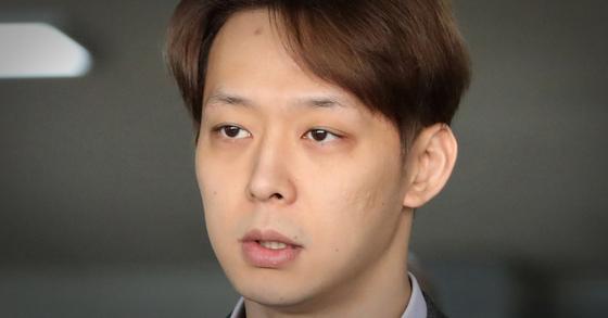 마약 혐의로 기소된 가수 겸 배우 박유천씨. [뉴스1]